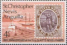[The 70th Anniversary of the First St. Kitts and Nevis Stamps, Typ EE]