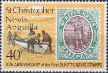 [The 70th Anniversary of the First St. Kitts and Nevis Stamps, Typ EG]