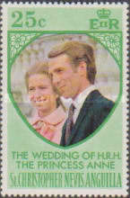 [The Wedding of H.R.H. The Princess Anne and Mark Phillips, Typ EI]