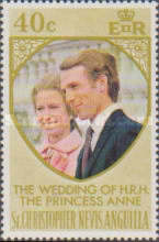 [The Wedding of H.R.H. The Princess Anne and Mark Phillips, Typ EI1]