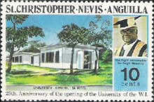 [The 25th Anniversary of the Opening of the University of West Indies, Typ ER]