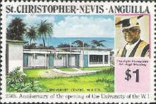 [The 25th Anniversary of the Opening of the University of West Indies, Typ ES]