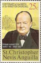 [The 100th Anniversary of the Birth of Winston Spencer Churchill, type EZ]