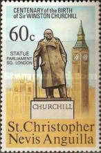 [The 100th Anniversary of the Birth of Winston Spencer Churchill, type FB]