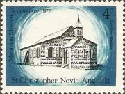 [The 200th Anniversary of Moravian Brotherhood of St. Kitts, Typ GS]