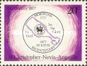 [The 200th Anniversary of Moravian Brotherhood of St. Kitts, Typ GT]