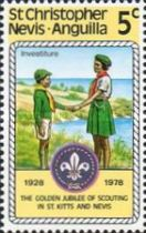 [The 50th Anniversary of St. Kitts - Nevis Scouts Association, Typ HZ]