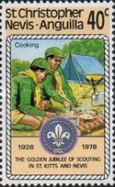 [The 50th Anniversary of St. Kitts - Nevis Scouts Association, Typ IC]