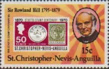 [The 100th Anniversary of the Death of Rowland Hill, Typ IO]