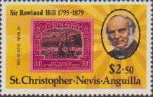 [The 100th Anniversary of the Death of Rowland Hill, Typ IQ]