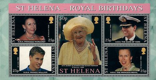 [The 100th Anniversary of the Birth of Queen Elizabeth the Queen Mother, 1900-2002, type ]