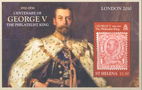 [International Stamp Exhibition LONDON 2010 - The 100th Anniversary of the Coronation of King George VI, type ]