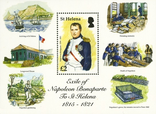 [The 200th Anniversary (2015) of the Exile of Napoleon to St. Helena, type ]