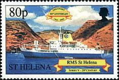 [The 500th Anniversary of the Discovery of St. Helena, type AAW]