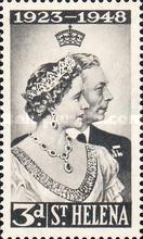 [The 25th Royal Wedding Anniversary of King George VI, type AG]