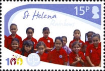 [The 100th Anniversary of the Girl Guides, type AMR]