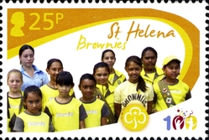 [The 100th Anniversary of the Girl Guides, type AMS]