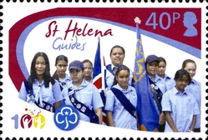 [The 100th Anniversary of the Girl Guides, type AMT]