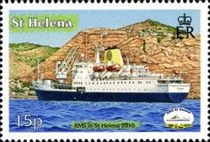 [The 20th Anniversary of RMS St. Helena, type AMZ]