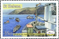 [The 20th Anniversary of RMS St. Helena, type ANA]