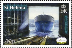 [The 20th Anniversary of RMS St. Helena, type ANB]