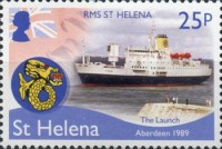 [Ships - Final Voyage of the RMS St. Helena, type ASA]
