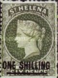 [Queen Victoria - Not Issued Stamps Surcharged. See also No. 13-20, type B13]
