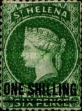 [Queen Victoria - Not Issued Stamps Surcharged. See also No. 13-20, type B15]