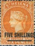 [Queen Victoria - Not Issued Stamps Surcharged. See also No. 13-20, type B16]