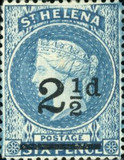 [Queen Victoria - Not Issued Stamps Surcharged. New Watermark, type B31]