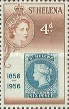 [The 100th Anniversary of Stamps in St. Helena, type BB1]