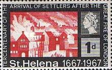 [The 300th Anniversary of Arrival of Settlers after Great Fire of London, type CN]
