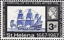 [The 300th Anniversary of Arrival of Settlers after Great Fire of London, type CO]