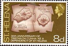 [The 30th Anniversary of Tristan da Cunha as a Dependency of St. Helena, type CS]