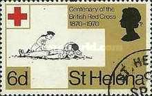 [The 100th Anniversary of British Red Cross, type EA]