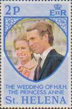 [The Royal Wedding of Princess Anne with Mark Philips, type FL]