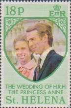 [The Royal Wedding of Princess Anne with Mark Philips, type FL1]
