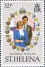 [Royal Wedding of Prince Charles and Lady Diana Spencer, type IN]