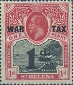 [War Tax - Previous Issue Overprinted