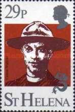 [The 75th Anniversary of Boy Scout Movement, type JK]