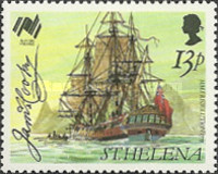 [The 200th Anniversary of the Colonization of Australia - Ships, type NW]