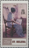 [The 90th Anniversary of the Birth of Queen Elizabeth the Queen Mother, type PU]