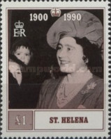 [The 90th Anniversary of the Birth of Queen Elizabeth the Queen Mother, type PV]