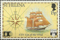 [The 500th Anniversary of Discovery of America - Trips to Cape Horn, type RB]