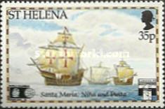 [The 500th Anniversary of Discovery of America - Trips to Cape Horn, type RD]