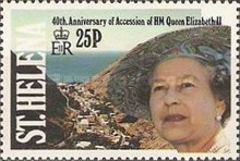 [The 40th Anniversary of Queen Elizabeth II's Accession, type RH]