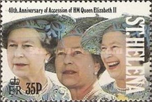 [The 40th Anniversary of Queen Elizabeth II's Accession, type RI]