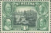 [The 100th Anniversary of St. Helena's British Colonization, type T]