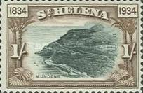 [The 100th Anniversary of St. Helena's British Colonization, type Y]
