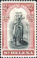 [The 100th Anniversary of St. Helena's British Colonization, type Z]